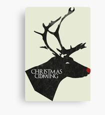 Christmas is Coming - Not only the winter! Canvas Print