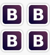 bootstrap - bootstrap stickers 4 in 1 Sticker