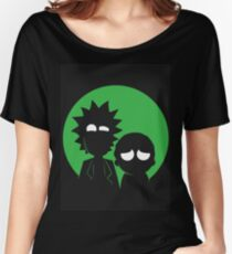 Rick and Morty (Green) Women's Relaxed Fit T-Shirt
