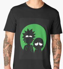 Rick and Morty (Green) Men's Premium T-Shirt