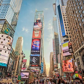 Times Square Hustle by RayW