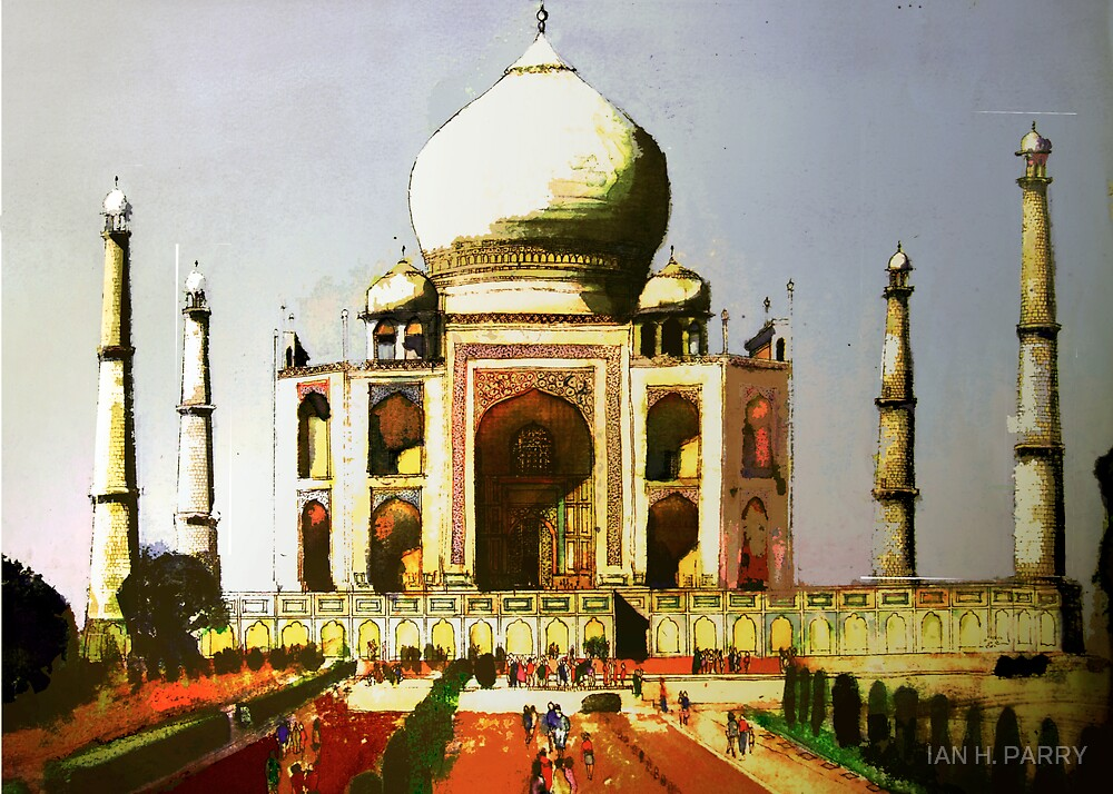 TAJ MAHAL. by IAN H. PARRY