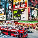 Times Square II widescreen by Ray Warren