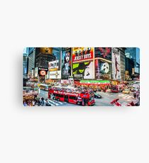 Times Square II widescreen Canvas Print