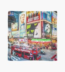 Times Square II (digitally repainted) Scarf
