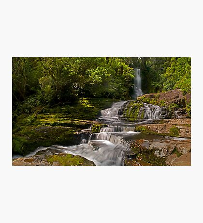 Matai Falls Catlins - New Zealand  Photographic Print