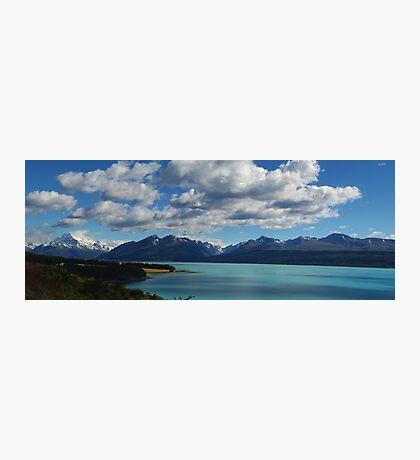 Mount Cook - From Lake Pukaki, New Zealand Photographic Print