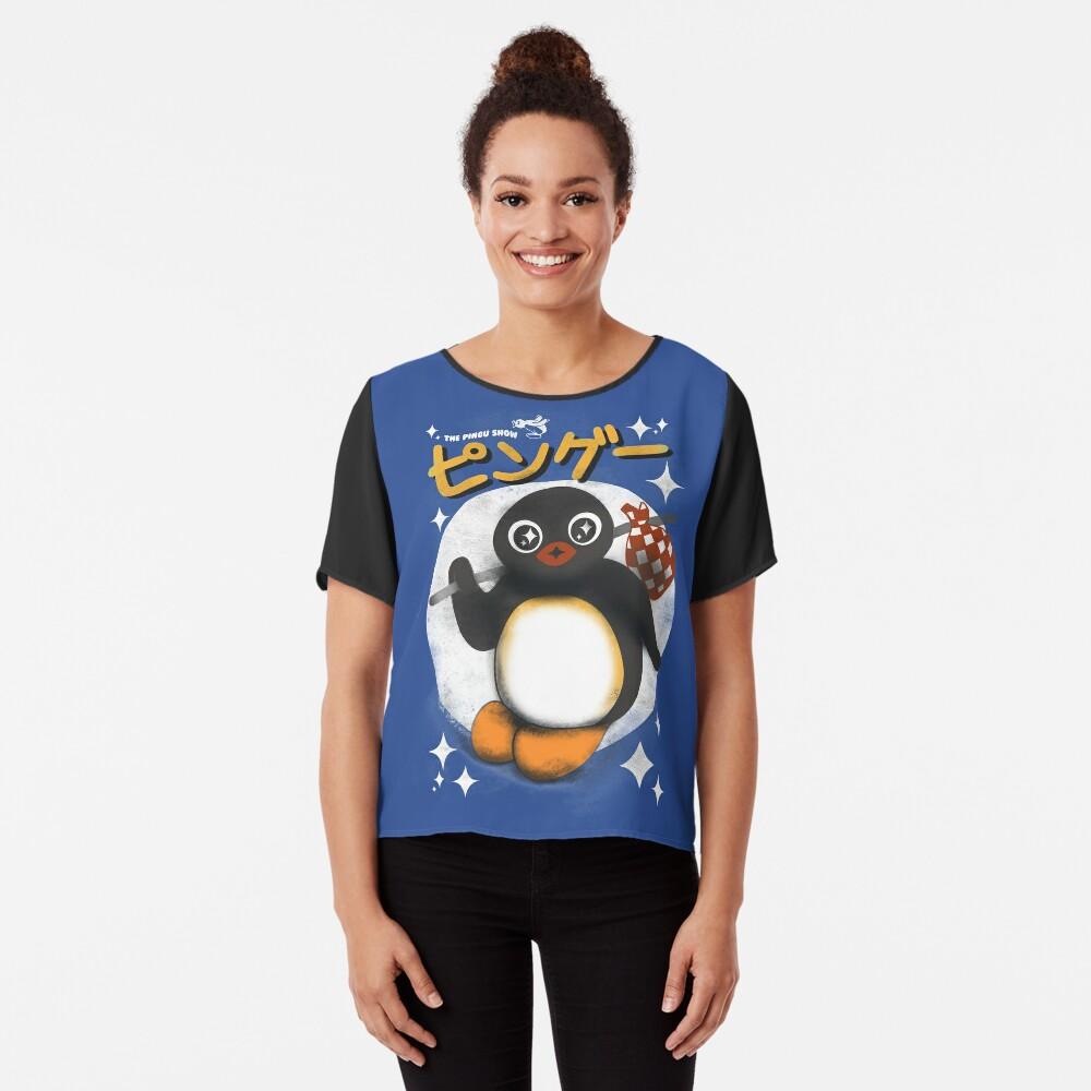 Die Pingu Show Chiffon Top