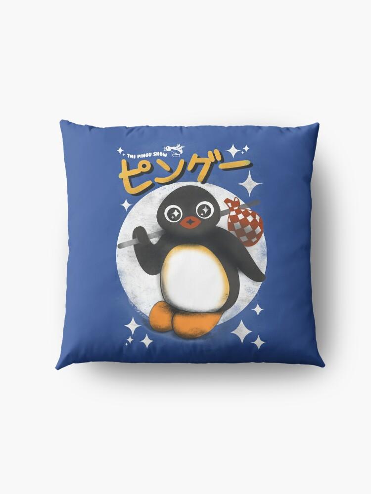 Alternative Ansicht von Die Pingu Show Bodenkissen