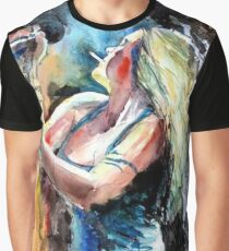 Beth Hart Abstract Graphic T-Shirt