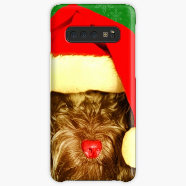 Cockapoo Happy Christmas Picture Samsung Galaxy Snap Case