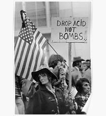 Lasse keine Bomben fallen Poster