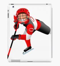 Hockey Vector Cartoon Boy Icon   iPad Case/Skin