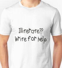 Illiterate T-Shirt