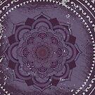 Mandala Purple by Sonja Kallio