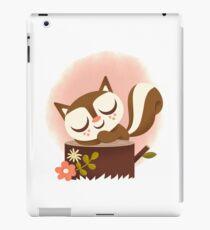 Sleeping Woodland Squirrel - Cute Animals iPad Case/Skin
