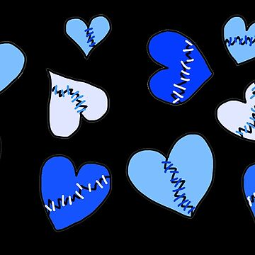 Repaired Hearts_Blue by Elora0321