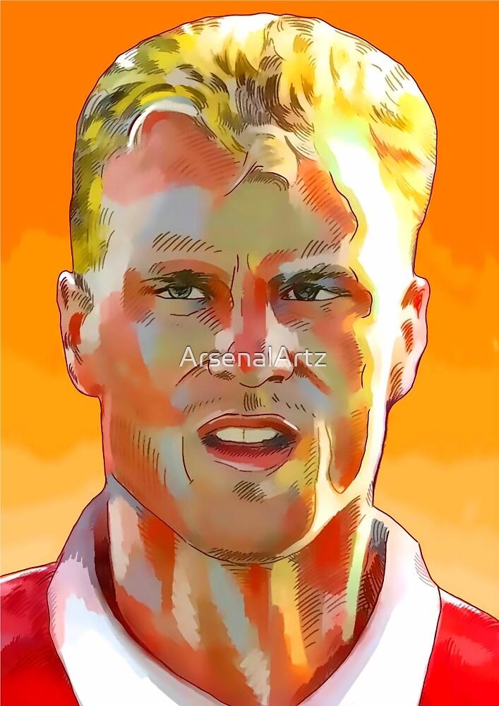 Dennis Bergkamp - Stillness & Speed by ArsenalArtz