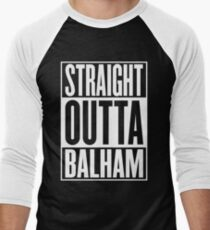 Straight Outta Balham Men's Baseball ¾ T-Shirt