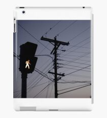 Crosswalk light iPad Case/Skin