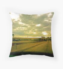 Both Sides Now Throw Pillow