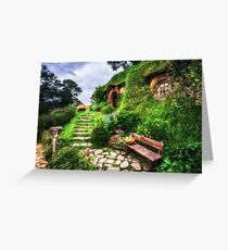 bilbo baggins home Greeting Card