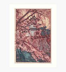 Hirosaki Castle - Yoshida Hiroshi Art Print