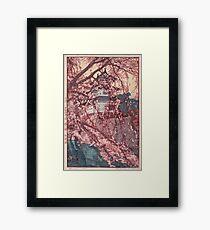 Hirosaki Castle - Yoshida Hiroshi Framed Print