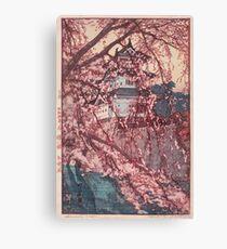 Hirosaki Castle - Yoshida Hiroshi Canvas Print