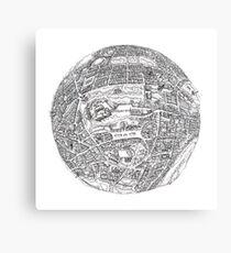 Edinburgh Globe Canvas Print