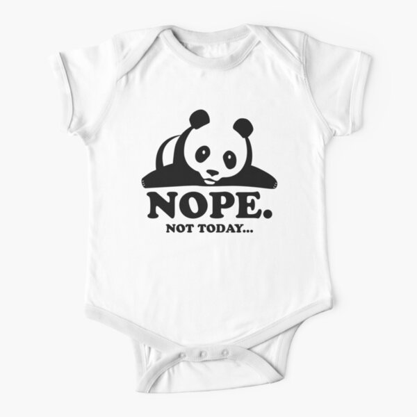 Happy Lazy Shade Onesie T-Shirt Newborn Cute Bunny White