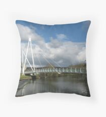 Millners Bridge, Exeter Throw Pillow