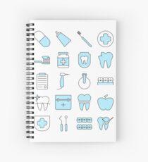 Cuaderno de espiral Dentista Pattern Smart Icons