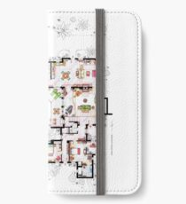 Beach House of Charlie Harper from T & aHM iPhone Wallet/Case/Skin
