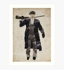 Arthur Shelby from Peaky Blinders Art Print