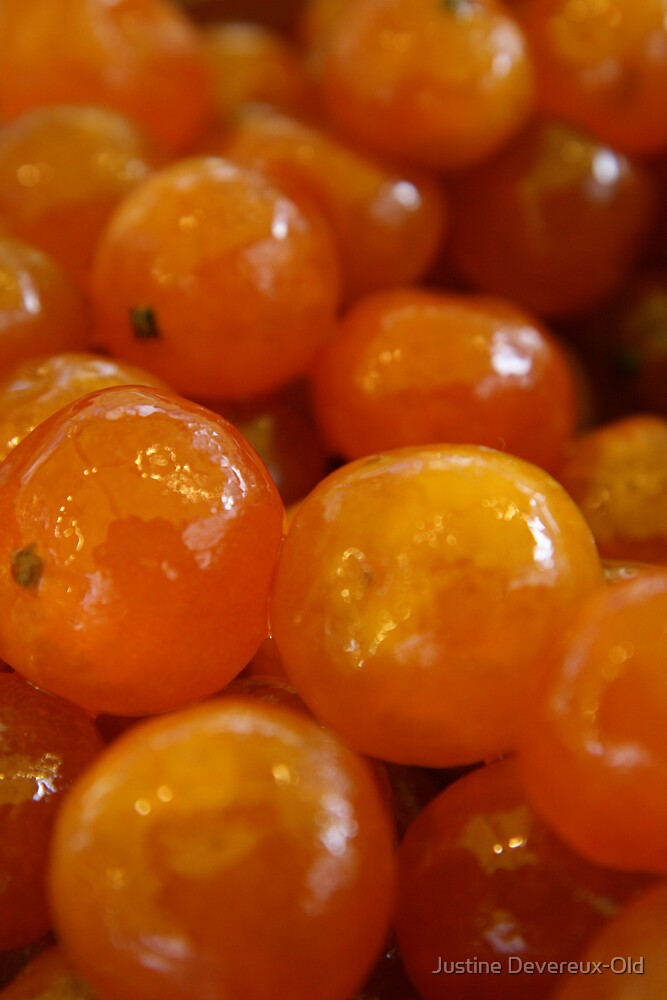 Candied Clementines by Justine Devereux-Old