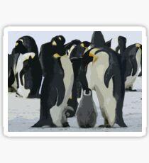 Penguin Meeting Sticker