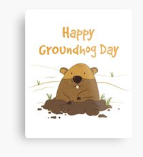 Groundhog Day 2018 Metal Print