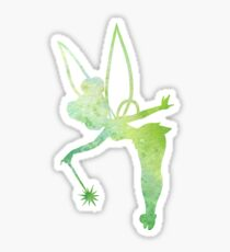 Water Color Tinker Bell Sticker