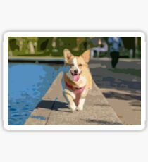 Funny Dog Sticker