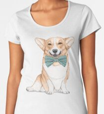 Corgi Dog Women's Premium T-Shirt