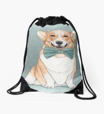 Corgi Dog Drawstring Bag