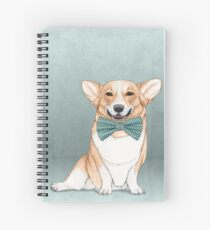 Corgi Dog Spiral Notebook