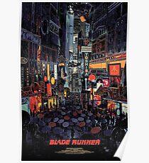 Blade Runner City Poster