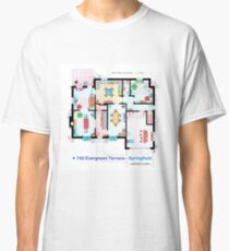 House of Simpson family - Ground Floor Classic T-Shirt