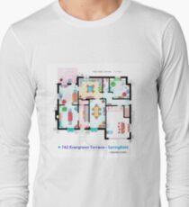 House of Simpson family - Ground Floor Long Sleeve T-Shirt