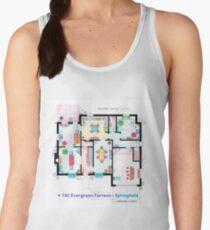 House of Simpson family - Ground Floor Women's Tank Top