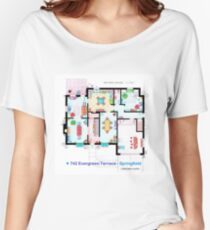 House of Simpson family - Ground Floor Women's Relaxed Fit T-Shirt