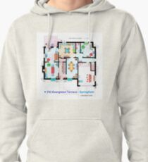 House of Simpson family - Ground Floor Pullover Hoodie