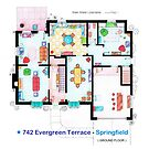 House of Simpson family - Ground Floor by Iñaki Aliste Lizarralde